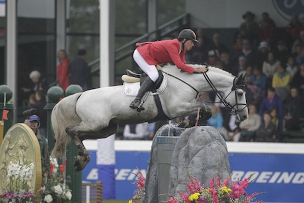 Christian Ahlmann of GER riding Asca Z
