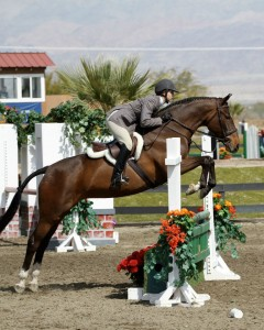 Bella Fiora showing in pregreen at Thermal